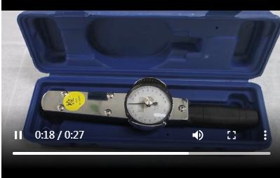 表盘扭力扳手欧亿5产品视频